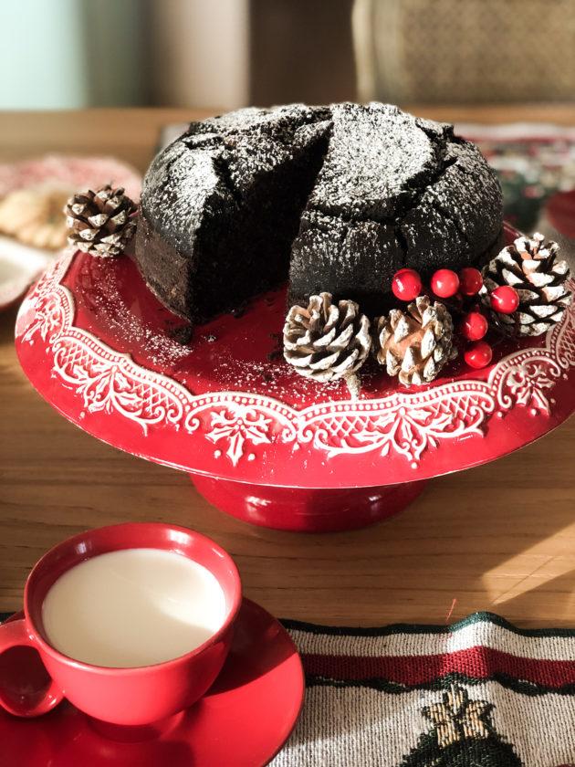 Torta al cioccolato top